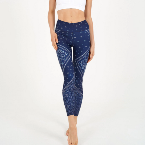 Gypsy Heart H. Waist leggings- 7/8