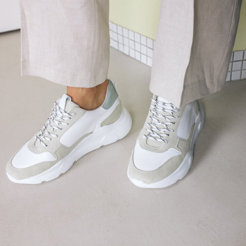 The mint chunky sneakers