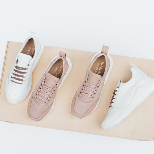 Savage rose NUDE SNEAKERS - Jutelaune