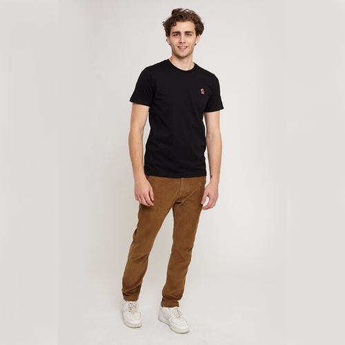 Aspen Black Organic Cotton T-shirt