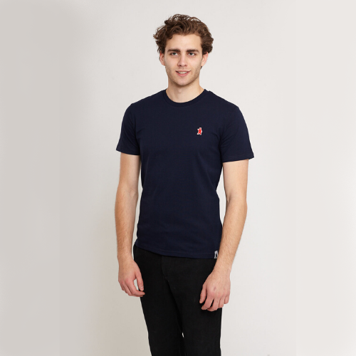 Aspen Navy Organic Cotton T-shirt