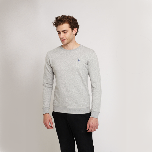 Carlton Urban Grey Organic Cotton Sweater