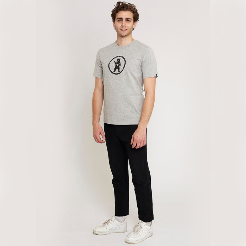 Notorious BIC - Urban Grey Organic Cotton T-shirt
