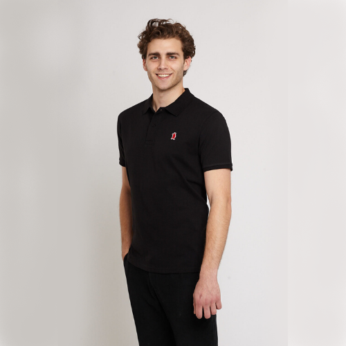 Oakley Black Organic Cotton Polo Shirt