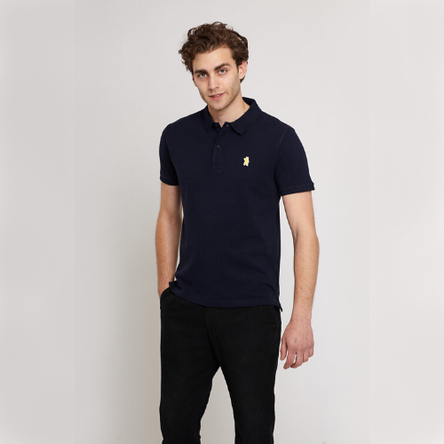 Oakley Navy Organic Cotton Polo Shirt