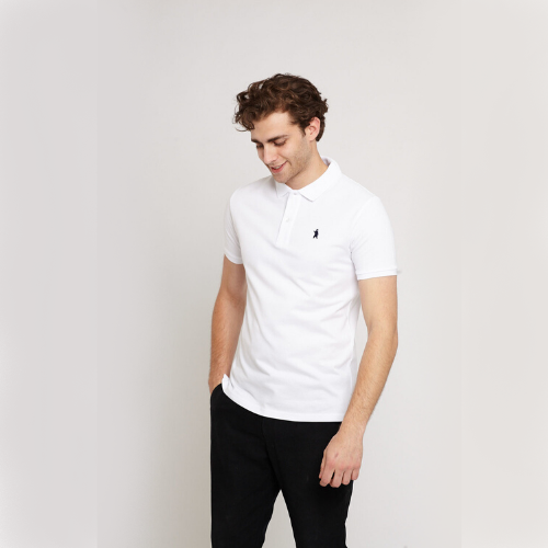 Oakley White Organic Cotton Polo Shirt