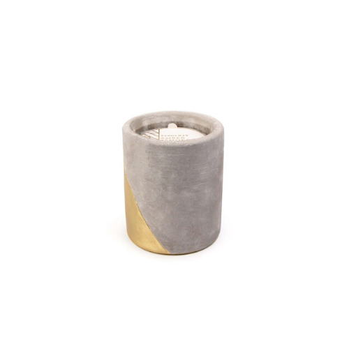 Urban Concrete 12oz Candle - AMBER & SMOKE - Paddywax