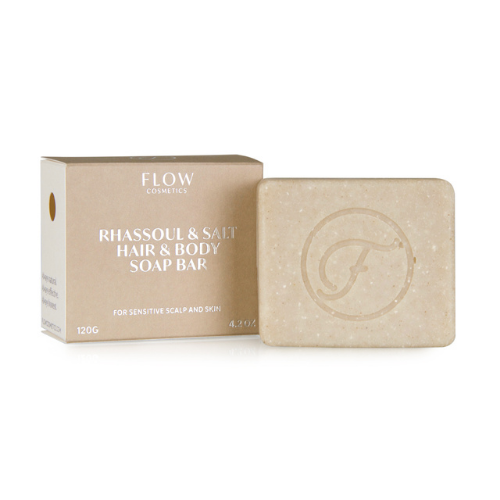 Hair and Body Soap - Rhassoul & Salt - Flow