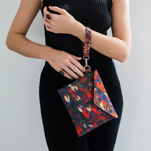 Autumna Envelope Clutch - Saz Mifsud