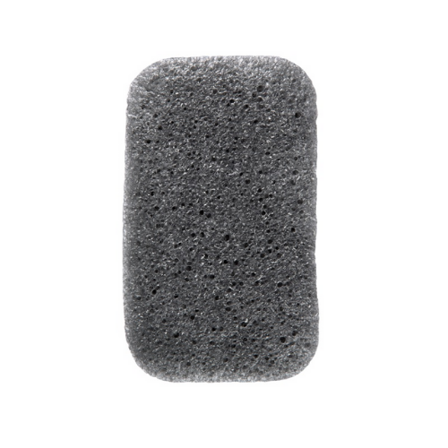 Konjac Loofah Medley Body Sponge With Bamboo Charcoal - The Konjac Sponge Co.