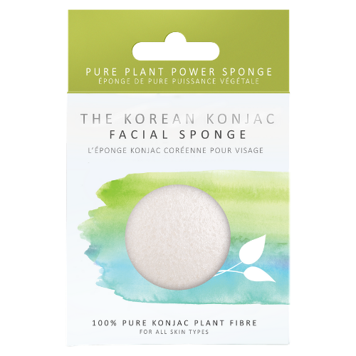 100% Pure Konjac Facial Puff Sponge - The Konjac Sponge Co.