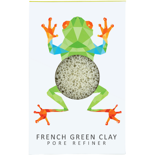 Konjac Mini Pore Refiner Rainforest Tree Frog - The Konjac Sponge Co.