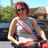Alette loves that she can enjoy life to the fullest with her WHILL and even was Ms. Wheelchair California