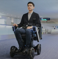 WHILL's MaaS offering provides autonomous mobility with high-tech sensors