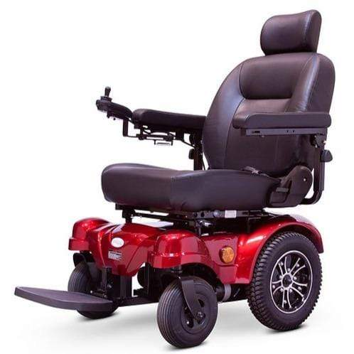 EWheels Medical Red / Right EWheels EW-M51 Heavy Duty Power Wheelchair