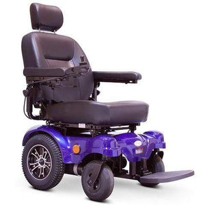 EWheels Medical Blue / Right EWheels EW-M51 Heavy Duty Power Wheelchair