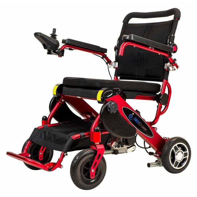 Pathway Mobility Candy Apple Red Pathway Mobility Geo Cruiser DX Power Wheelchair