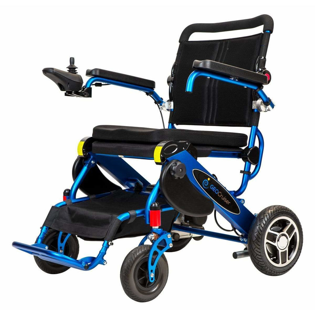 Pathway Mobility Royal Blue Pathway Mobility Geo Cruiser Elite EX Power Wheelchair