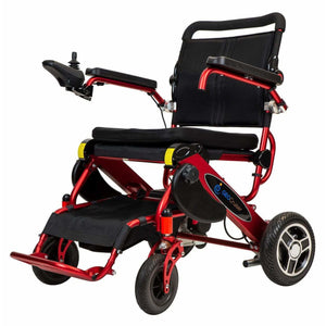 Pathway Mobility Candy Apple Red Pathway Mobility Geo Cruiser Elite EX Power Wheelchair