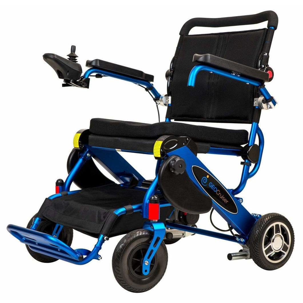 Pathway Mobility Royal Blue Pathway Mobility Geo Cruiser LX Power Wheelchair