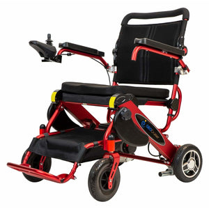 Pathway Mobility Candy Apple Red Pathway Mobility Geo Cruiser LX Power Wheelchair
