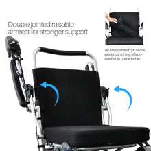 Load image into Gallery viewer, Wheelchair88 Wheelchair88 Foldawheel PW-1000XL Power Wheelchair
