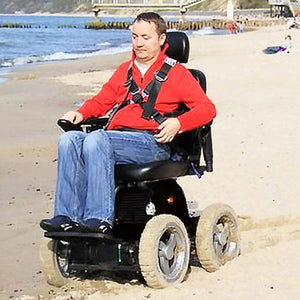 Wheelchair88 Wheelchair88 PW-4x4Q All Terrain Power Wheelchair