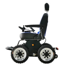 Load image into Gallery viewer, Wheelchair88 Wheelchair88 PW-4x4Q All Terrain Power Wheelchair