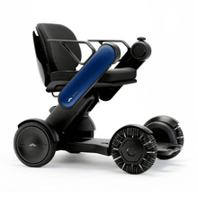 "Load image into Gallery viewer, WHILL Navy / 16"" x 16"" / Right WHILL Model Ci Power Wheelchair"