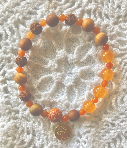 Orange aventurine bracelet **sold**