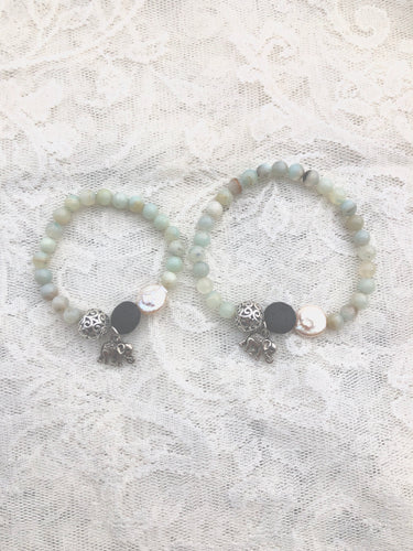 Mother Daughter Diffusing Bracelet Set ***SOLD***