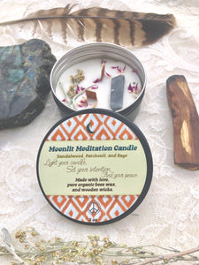 Moonlit Meditation Candle *sorry unavailable currently*