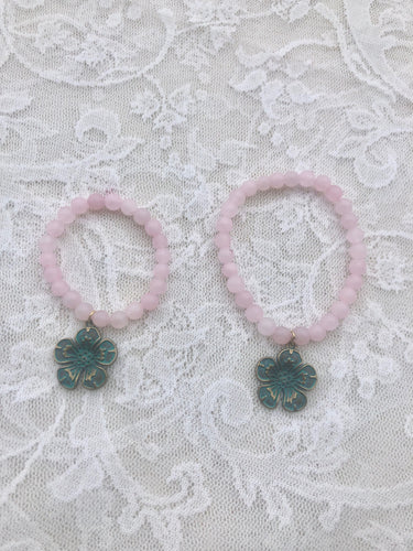 **sold**Mother / Daughter bracelet Set