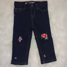 Load image into Gallery viewer, RTS Distressed Jeans Size 18mos