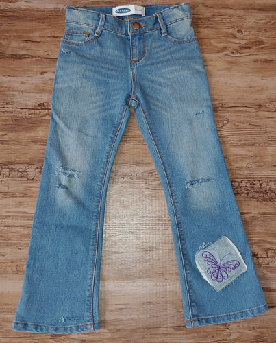 RTS Distressed Jeans Size 5T