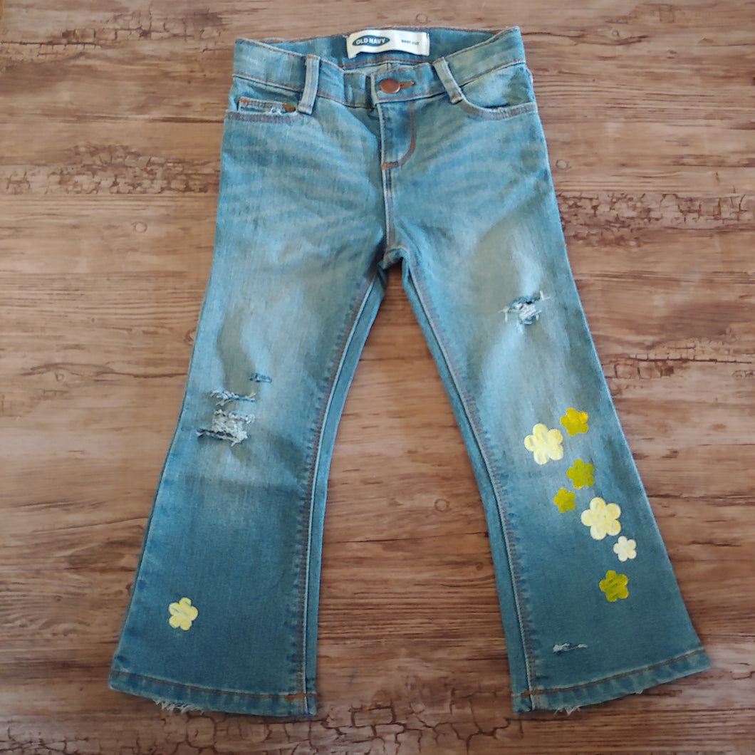 RTS Distressed Jeans Size 3T