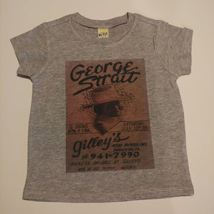 King of Country George Strait Adult Tee