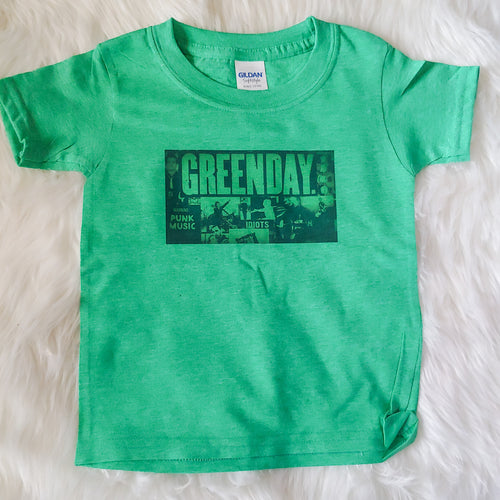 Green Day Kids & Adult Tees