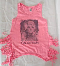 Load image into Gallery viewer, I Beg Your Parton? Dolly Adult Tees