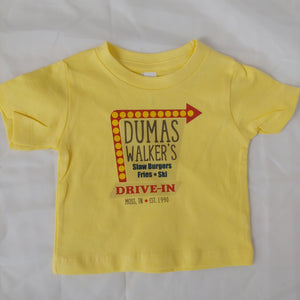 Dumas Walker's kids and adult tee