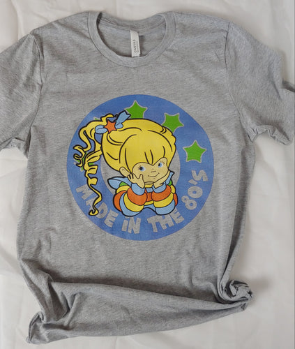 Made in the 80's Rainbow Brite Adult Tee