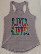Load image into Gallery viewer, River Hippie Tie Dye Design Adult Tees and tanks