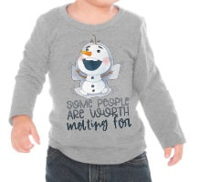 Load image into Gallery viewer, Some People Are Worth Melting For Frozen Shirt