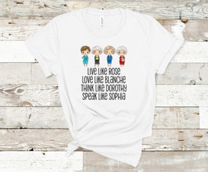 Golden Girls Crew Tee