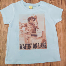 Load image into Gallery viewer, Waitin' on Lane Western Rodeo Legend Kids or Adult Tee