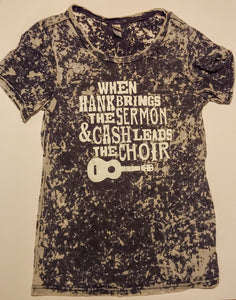 My Church Adult Country Music Tee