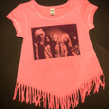 Load image into Gallery viewer, Hair Bands Classic Rock Infant/Toddler Fringe Dress or Top