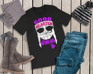Good Hearted Woman Willie Adult Long and Short Sleeve Tees