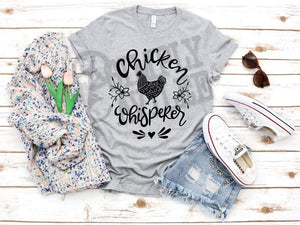 Chicken Whisperer Farm Adult Tee
