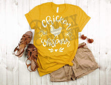 Load image into Gallery viewer, Chicken Whisperer Farm Adult Tee